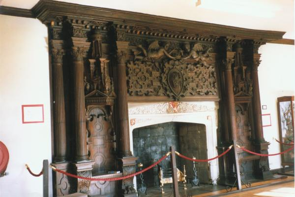 Holbein Hall Fireplace